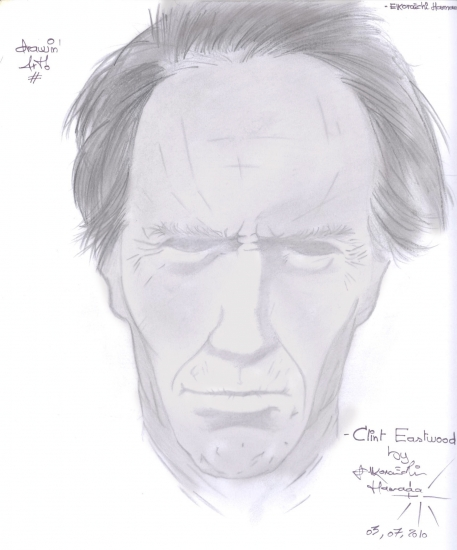Clint Eastwood por hamada-mj-fan